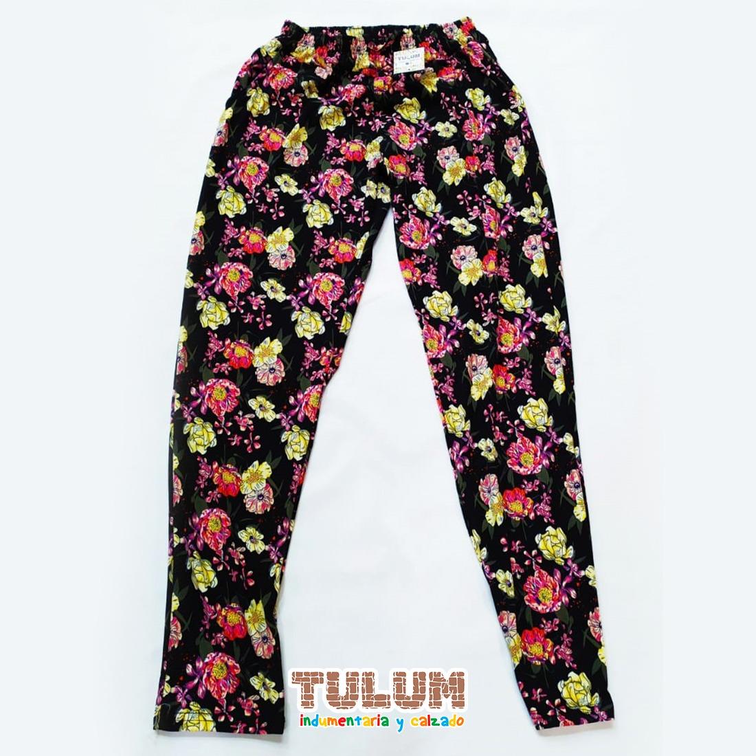Pantalon De Mujer Modal Estampados Tulum